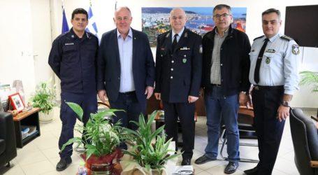 Συνάντηση με τη νέα ηγεσία της Αστυνομικής Διεύθυνσης Μαγνησίας