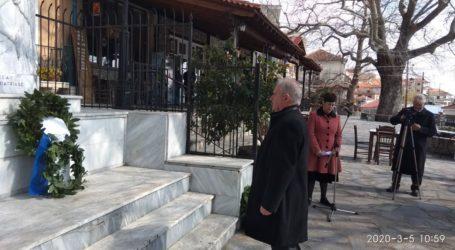Στην Ραψάνη για την Εορτή του Αγίου Γεωργίου ο δήμαρχος Τεμπών Γ. Μανώλης