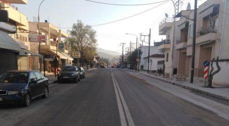 Ν. Αγχίαλος: Άδειοι οι δρόμοι εξαιτίας κορωνοϊού [εικόνες]