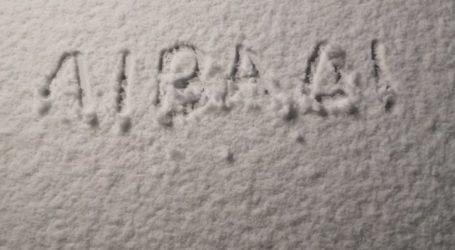 Χιόνισε στο Λιβάδι Ελασσόνας – Δείτε βίντεο