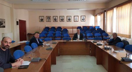 Προτάσεις Ευαγγέλου στην σύσκεψη με τους επικεφαλής των παρατάξεων στον Δήμο Ελασσόνας