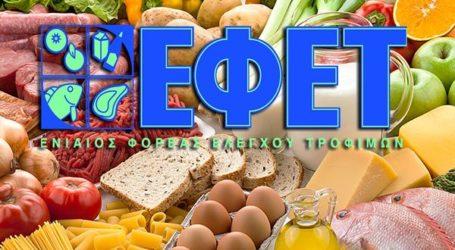 ΕΦΕΤ: Ενημέρωση καταναλωτών και επιχειρήσεων για τη μετάδοση του νέου κορωνοϊού μέσω των τροφίμων