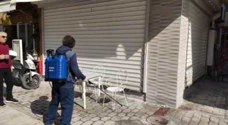 Απολυμάνσεις δημόσιων χώρων από τον Δήμο Σκιάθου