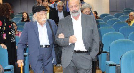 Το «αντίο» του Πανεπιστημίου Θεσσαλίας στον Μανώλη Γλέζο