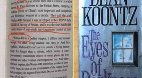 """Θεωρία συνωμοσίας ή όχι; """"Το 2020 θα εξαπλωθεί ο ιός Wuhan-400"""" έγραφε βιβλίο του 1981!"""