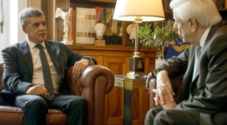Συνάντηση με τον Πρόεδρο της Δημοκρατίας Προκόπη Παυλόπουλο είχε σήμερα ο Περιφερειάρχης Θεσσαλίας