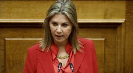 Κοινοβουλευτική παρέμβαση της Ζέττας Μακρή για διατάξεις του σχεδίου του νέου ΠΔ για τους ναυαγοσώστες