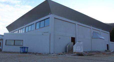 Ολοκληρώνεται η κατασκευή του νέου κλειστού γυμναστηρίου Ζαγοράς [εικόνες]