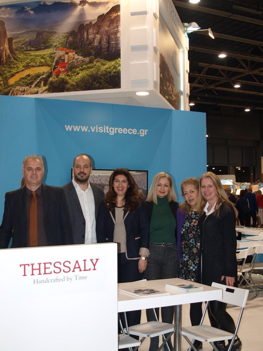 Συμμετοχή της Περιφέρειας Θεσσαλίας στην Τουριστική Έκθεση «FIETSENWANDELBEURS2020» στην Ουτρέχτη