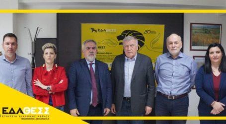 Ενημέρωση του Προέδρου ΠΕΔ Θεσσαλίας για το Πρόγραμμα Ανάπτυξης της ΕΔΑ ΘΕΣΣ