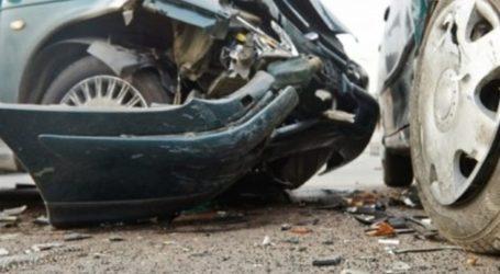 Τροχαίο ατύχημα στον Βόλο – Σύγκρουση δύο ΙΧ με έναν τραυματία