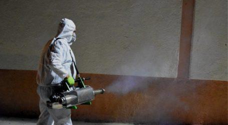 Βόλος: Απολύμανση του κτιρίου της Πρωτοβάθμιας Εκπαίδευσης Μαγνησίας