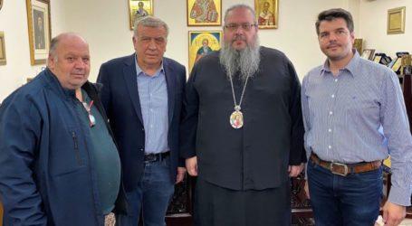Στον Μητροπολίτη για την αναπλήρωση των κενών θέσεων ιερέων ο δήμαρχος Κιλελέρ