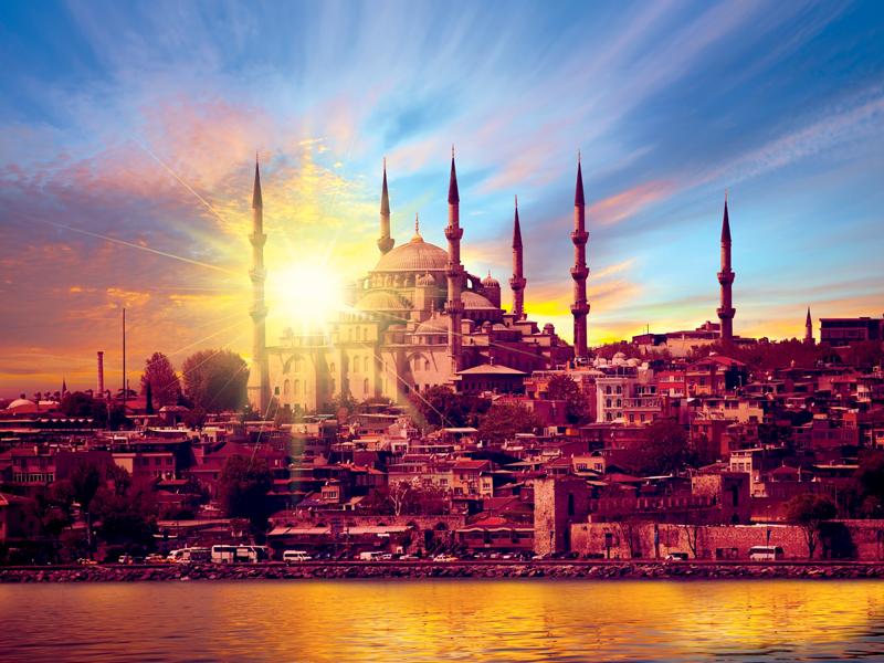 konstantinoupoli sunset