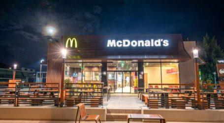 Τα εστιατόρια McDonald's εφαρμόζουν τα νέα περιοριστικά μέτρα για τον COVID-19