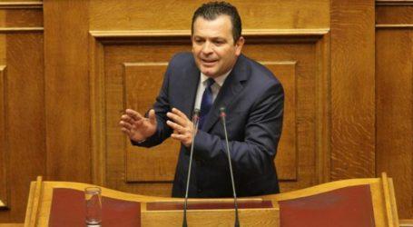 Για τον Έβρο και το μεταναστατευτικότοποθετήθηκε στην ολομέλεια της Βουλής οΧρήστος Μπουκώρος