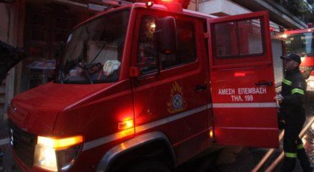 Φωτιά σε καμινάδα σπιτιού στη Νέα Δημητριάδα
