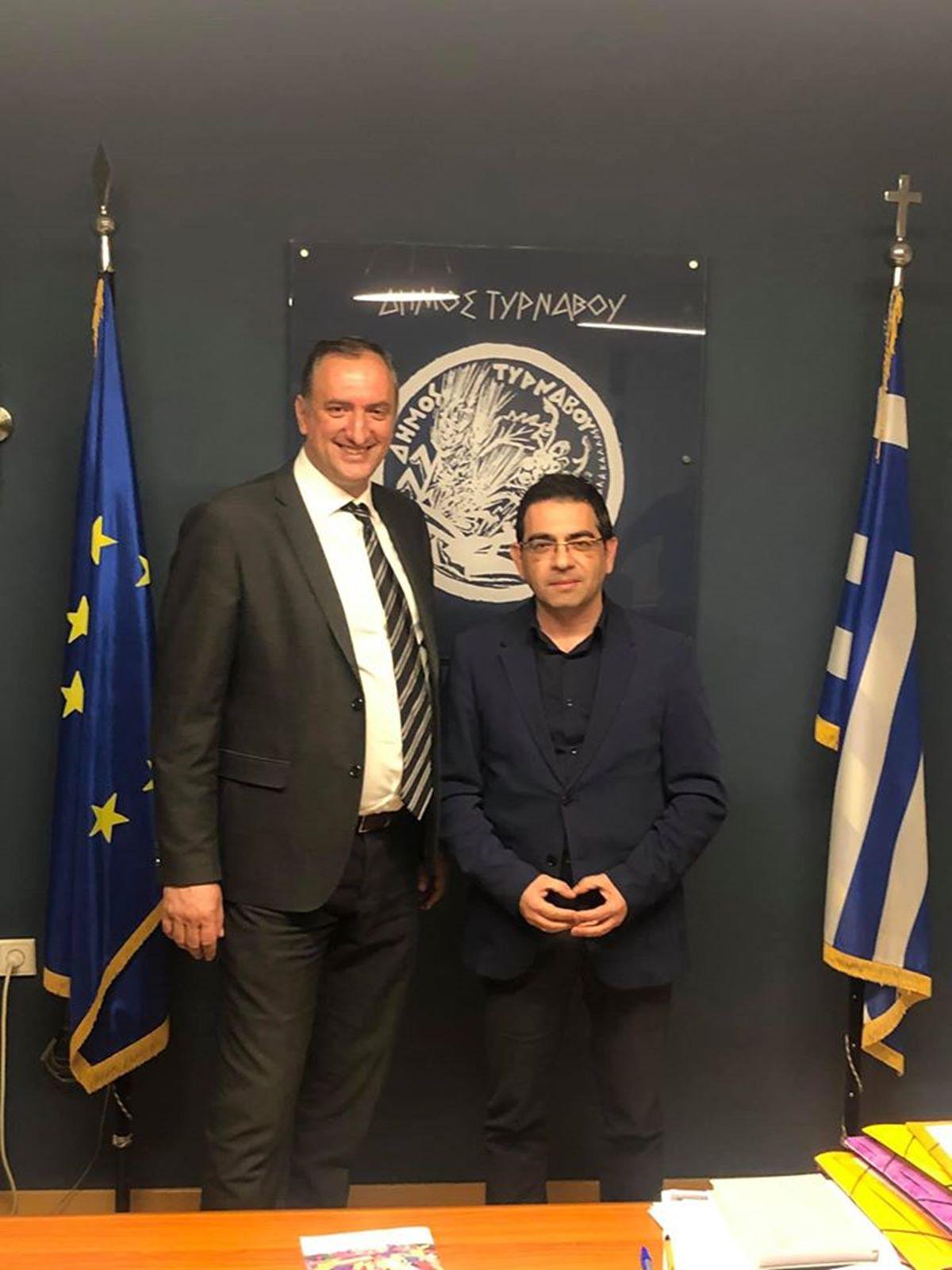 Ο Γενικός Γραμματέας Κοινωνικής Αλληλεγγύης και Καταπολέμησης της Φτώχειας επισκέφθηκε τον Τύρναβο