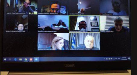 Τηλεδιάσκεψη μεταξύ των Συντονιστών Αποκεντρωμένων Διοικήσεων και της πολιτικής ηγεσίας του ΥΠΕΝ