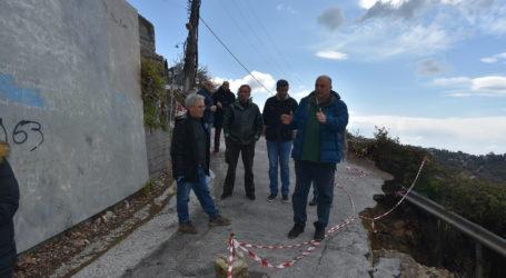 Αχιλλέας Μπέος: Αυτοψία στον κατεστραμμένο δρόμο της Μακρινίτσας – Δείτε το βίντεο