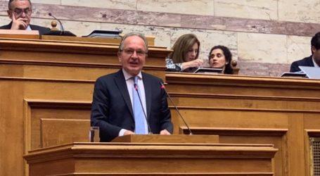 Αναφορές του Βουλευτή της ΝΔ Αθανάσιου Λιούπη για αιτήματα της Ομοσπονδίας Συνεταιρισμών Φαρμακοποιών Ελλάδος