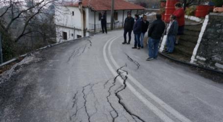 ΛΑΣ Ζαγοράς: Περιφέρεια και δήμος αδρανούν να αποκαταστήσουν τις ζημιές στο δρόμο για Πουρί