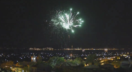 Ο Βόλος υποδέχεται το Αναστάσιμο μήνυμα με πυροτεχνήματα – Δείτε βίντεο
