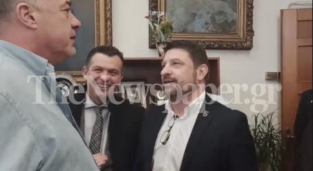 Όταν ο Αχιλλέας Μπέος μάλωνε τον Νίκο Χαρδαλιά – Δείτε το βίντεο