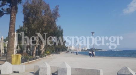 Κάγκελα τέλος – Άνοιξε για τον κόσμο η παραλία του Βόλου [εικόνες]