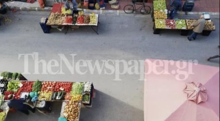 Κορωνοϊός: Λαϊκή αγορά πρότυπο στον Βόλο – Αυτοψία του TheNewspaper.gr [εικόνες]