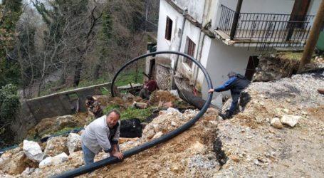 Πήλιο: Κινδυνεύουν με κατάρρευση τρία σπίτια λόγω κακοκαιρίας [εικόνες]