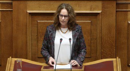 Κ. Παπανάτσιου: Άμεσα μέτρα για την αποκατάσταση των ζημιών σε Δήμους που επλήγησαν λόγω κακοκαιρίας στη Μαγνησία