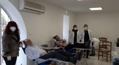 Με μεγάλη επιτυχία η εθελοντική αιμοδοσία του Δήμου Ελασσόνας