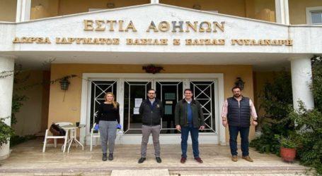 Τεστ για κορωνοϊό σε 124 ηλικιωμένους στο Γηροκομείο Αθηνών με τη συνεργασία Δήμου Αθηναίων
