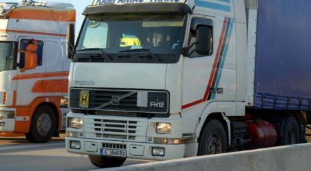 Διακοπή κυκλοφορίας οχημάτων άνω των 3,5 τόνων στην Εγνατία