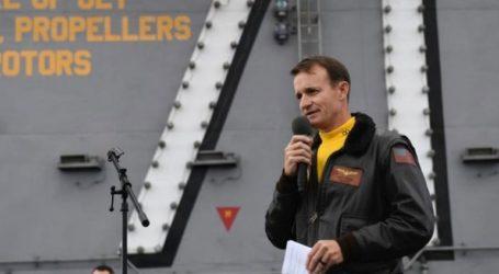 Θετικός στον κορωνοϊό ο κυβερνήτης του USS Theodore Roosevelt που «ξηλώθηκε» από το Πεντάγωνο
