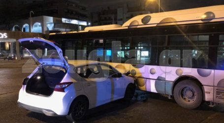 Τροχαίο ατύχημα με λεωφορείο – Έκλεισε κάθοδος της Κηφισίας