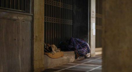 Κλιμάκιο ΕΟΔΥ στη νέα δομή Υποδοχής Αστέγων του δήμου Αθηναίων