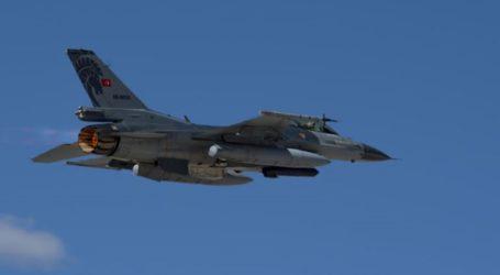 Ζεύγος τουρκικών αεροσκαφών πέταξε δύο φορές πάνω από τη Λέσβο