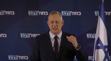 Ο Γκαντς ζήτησε περισσότερο χρόνο για τον σχηματισμό κυβέρνησης με τον Νετανιάχου