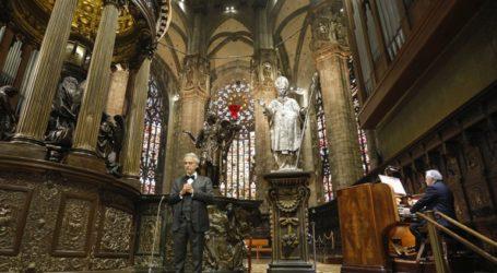 Ρεκόρ στο YouTube για τη συναυλία Μποτσέλι στον άδειο καθεδρικό του Μιλάνου