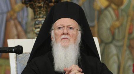 To μήνυμα του Πατριάρχη Βαρθολομαίου για το Πάσχα