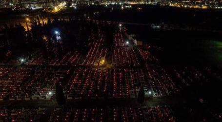 6.000 κεράκια στα κοιμητήρια τη Μεγάλη Παρασκευή