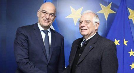 Επικοινωνία Δένδια με τον ύπατο εκπρόσωπο της Ε.Ε. και τον ΥΠΕΞ της Αιγύπτου
