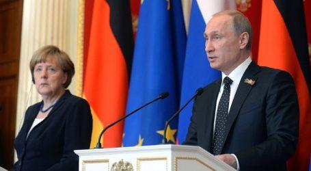 Τηλεφωνική επικοινωνία Πούτιν – Μέρκελ