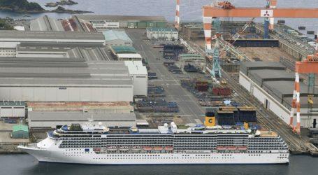 Στα 48 τα κρούσματα στο ιταλικό κρουαζιερόπλοιο Costa Atlantica
