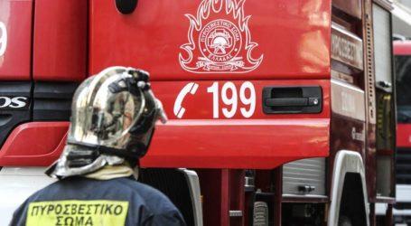 Εντοπίστηκαν χωρίς τις αισθήσεις τους δύο άτομα κατά τη διάρκεια κατάσβεσης πυρκαγιάς