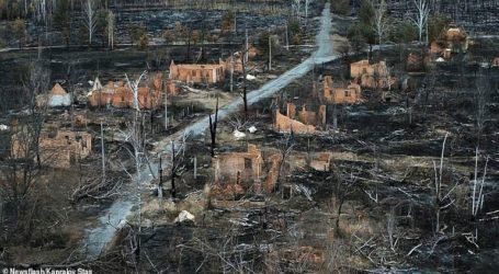 Εικόνες σοκ από την καταστροφή που προκάλεσε η πυρκαγιά στο Τσέρνομπιλ