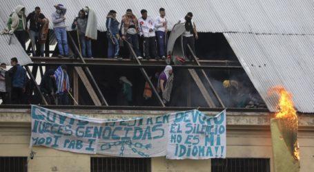 Κρατούμενοι έβαλαν φωτιά σε φυλακή κατά τη διάρκεια διαμαρτυρίας για τον κορωνοϊό