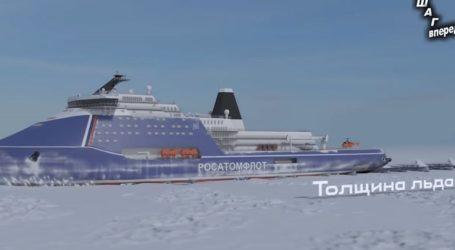 Η Ρωσία κατασκευάζει το μεγαλύτερο πυρηνικό παγοθραυστικό πλοίο για την Αρκτική
